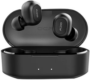 5662c20e62c QCY TWS Headphones Bluetooth 5.0 Wireless Headset Noise Cancelling mini Wireless  Bluetooth Sports Earphone with Mic and Charging box for IPhone 6 5 5S X 8 7  ...