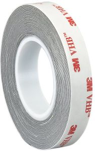 3M 4-5-9626 Pack of 2 Length 4 Wide CASE of 2 Transparent 4 Wide 5 yd Adhesive Transfer Tape 9626