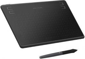 HUION HS64 Graphics Drawing Tablet with Battery-Free Stylus