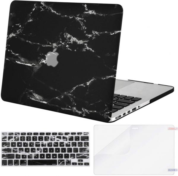 3 in 1 Hard Shell Screen Protector Keyboard Cover For MacBook Air 13 2018 A1932