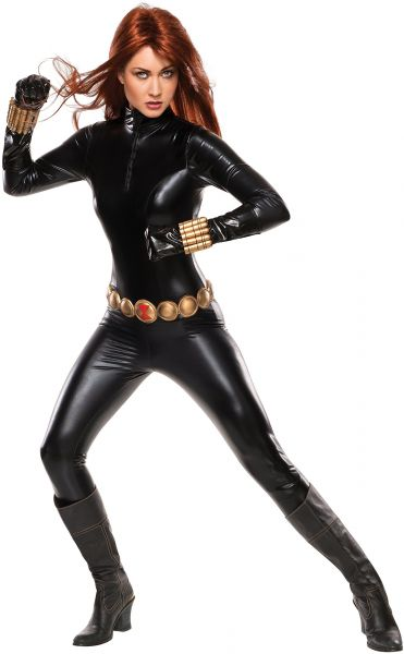 Marvel Rubie S Women S Universe Grand Heritage Black Widow Costume Black Large