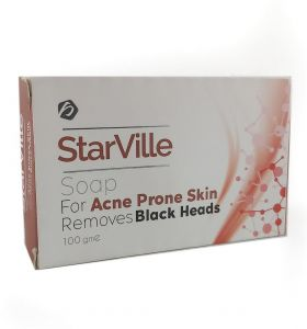 Starville Soap For Acne Prone Skin Black Heads 100 Gm Buy Online Soap Shower Gel At Best Prices In Egypt Souq Com