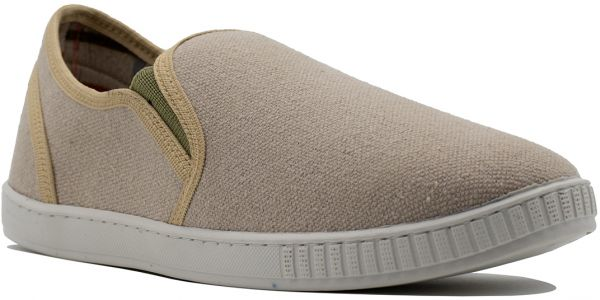 Ox Canvas Elastic Side Panel Low-Top
