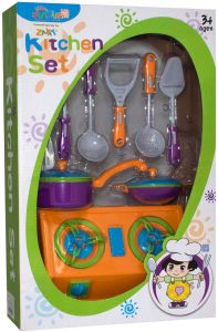 Sunmir Toys Kitchen Set Toy For Kids 10 Pieces Buy Online At