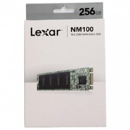 Lexar NM100 M.2 2280 SATA III (6Gb/s) SSD Solid state Drive 256 GB Internal for Laptop or PC