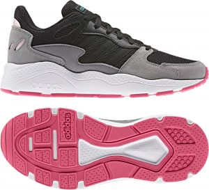 Instalación enfermero Museo Guggenheim  adidas Crazychaos Road Running Sneaker for Women , Size 36 2/3 EU ,Black &  Grey : Buy Online Athletic Shoes at Best Prices in Egypt | Souq.com