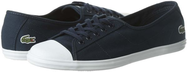 for whole family shopping super cute Lacoste Casual Shoe For Women Size 37 EU - Navy & White price in ...