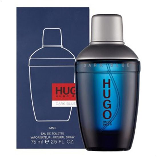 boss dark blue edt 75ml