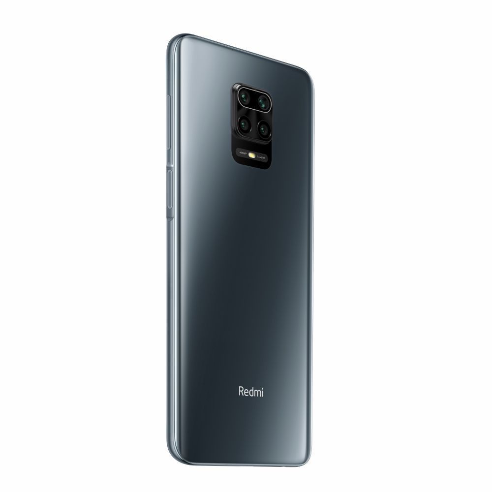 Xiaomi Redmi Note 9S Dual SIM - 6.67 Inch, 64 GB, 4 GB RAM, 4G LTE - Interstellar Gray