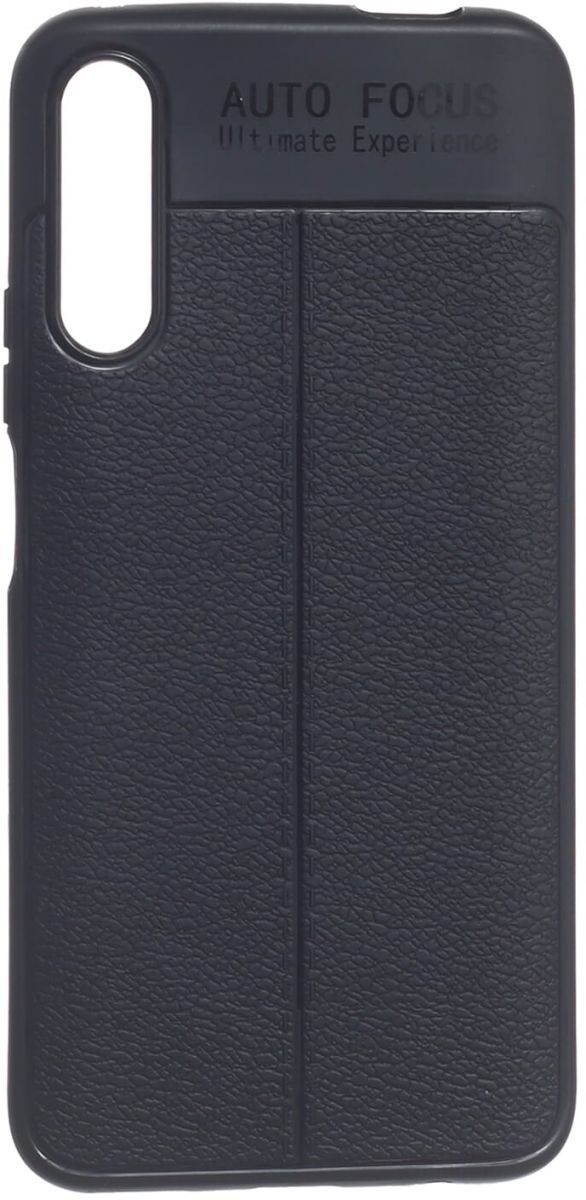 Auto Focus Rubber Back Cover Slim Case For Huawei Y9S - Black