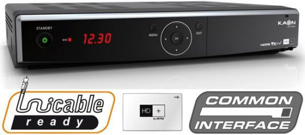 KAON High Definition Sat reciever with HDMI and PVR