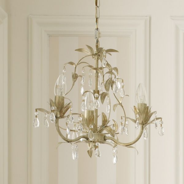 Souq laura ashley lavenham cream clear glass 3 light chandelier this item is currently out of stock mozeypictures Choice Image