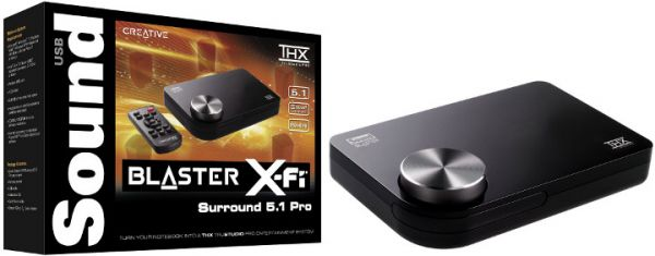 NEW DRIVERS: SOUND BLASTER THX TRUSTUDIO PRO