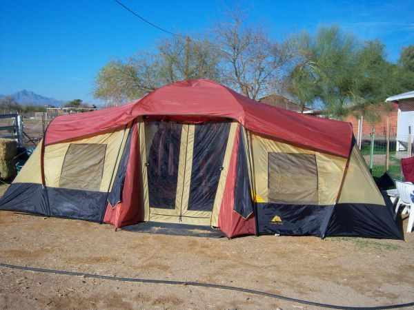 This item is currently out of stock & Ozark Tent Trail 10 Person 3 Room XL Camping Tent | Souq - UAE